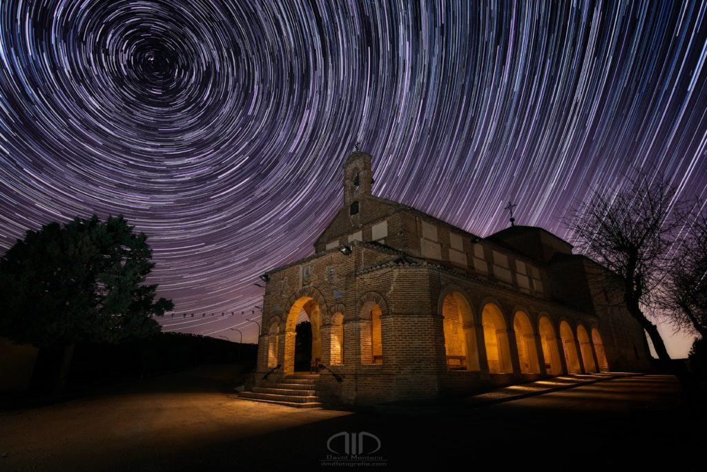 Star Trails ermita nocturna DMD Fotografía