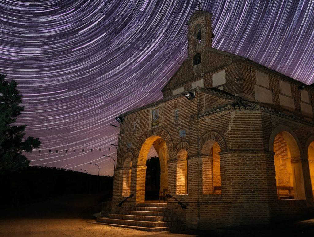 dest Star Trails ermita nocturna DMD Fotografía