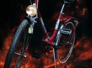 Dest Fotografía nocturna bicicleta BH lightpainting