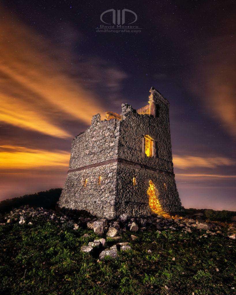 Torre telégrafo nocturna - DMD Fotografía